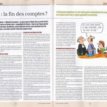 article LES AFFICHES Divorce la fin des comptes